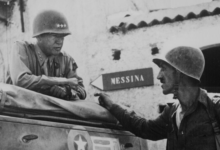 George S. Patton in Sicily