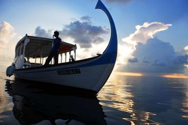 The Maldives is Asia's smallest country in area and population.