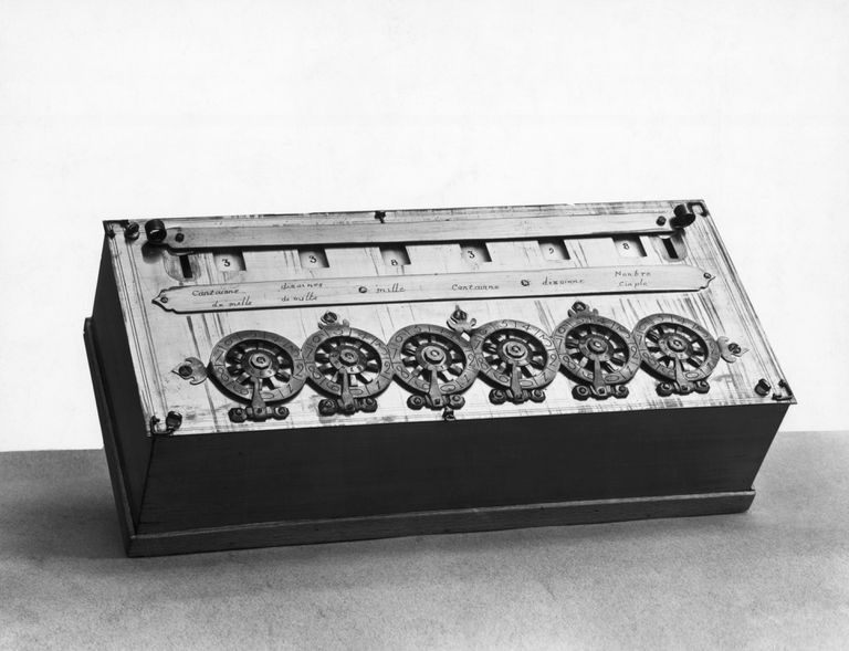 Blaise Pascal Calculating Machine
