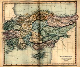 1849 Map of Asia Minor