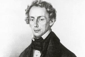 Portrait of Christian Doppler (1830)