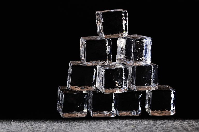 Clear ice forms when water is pure and doesn't contain dissolved gases. The easiest way to make clear ice is to use boiled water.