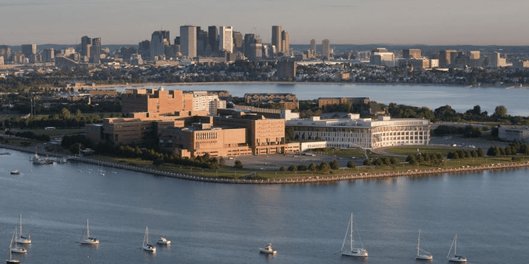 Campus of UMass Boston