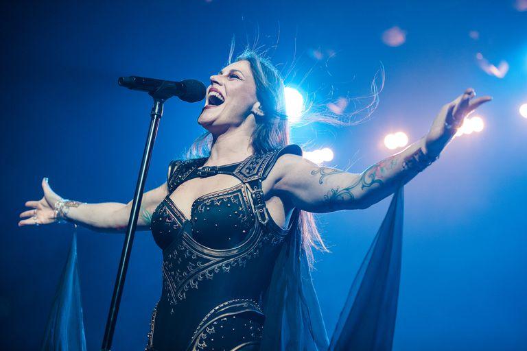 Floor Jansen singer member of the band Nightwish