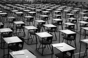 Exam desks