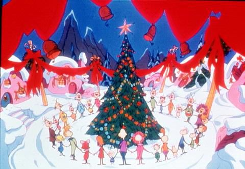 how the grinch stole christmas pictures whoville sings cartoon network