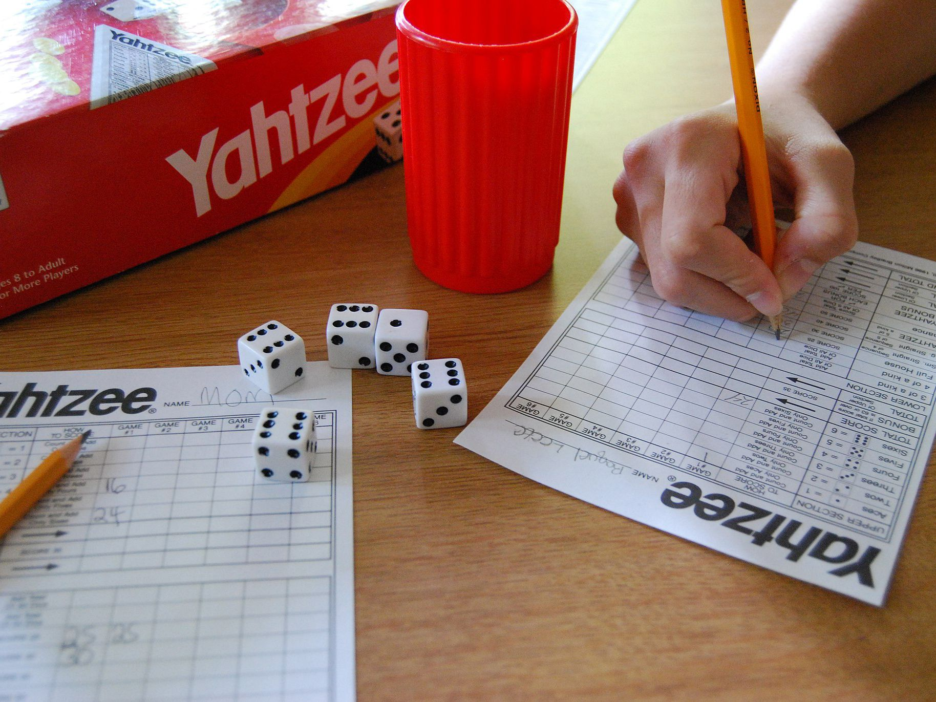 The Probability of Rolling a Full House in Yahtzee?