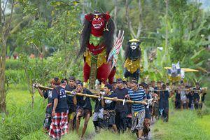 Cremation Ceremony Bali, Indonesia