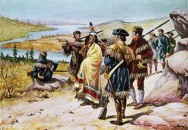Sacajawea Guiding the Lewis And Clark Expedition by Alfred Russell