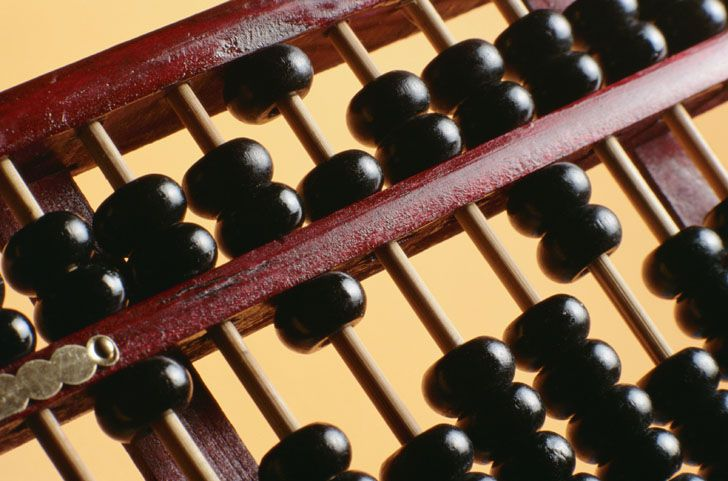 Skilled abacus users can compute sums faster than any calculator.