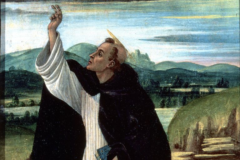 Saint Dominic by Botticelli
