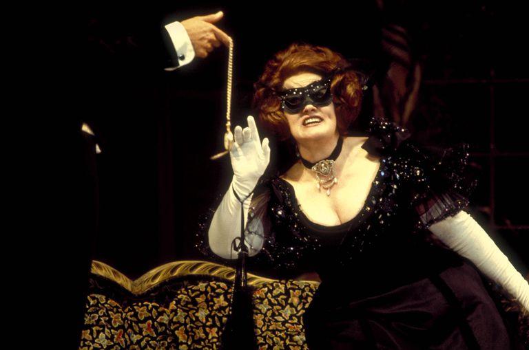Soprano, Joan Sutherland as Rosalinda in Strauss' operetta, Die Fledermaus