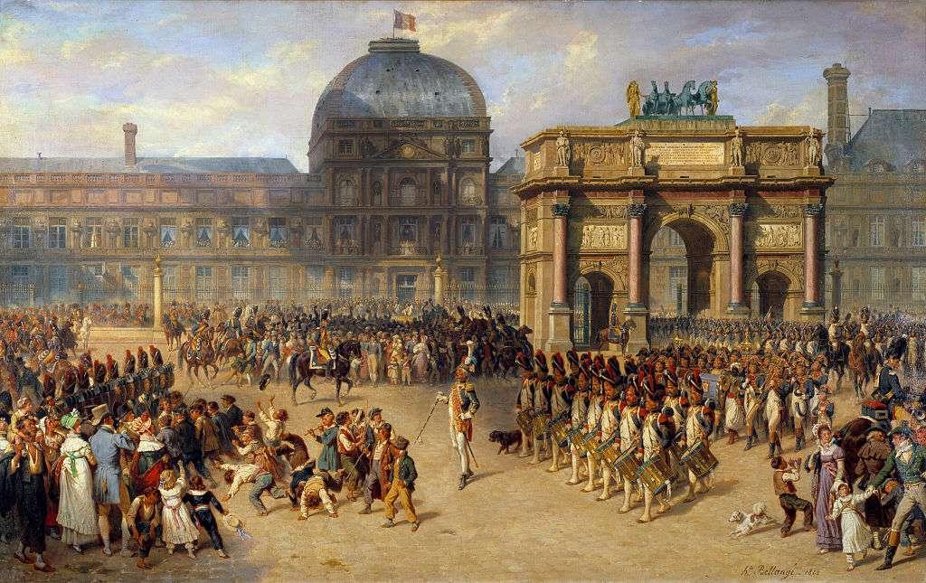 The Louvre Museum under Napoleon Bonaparte