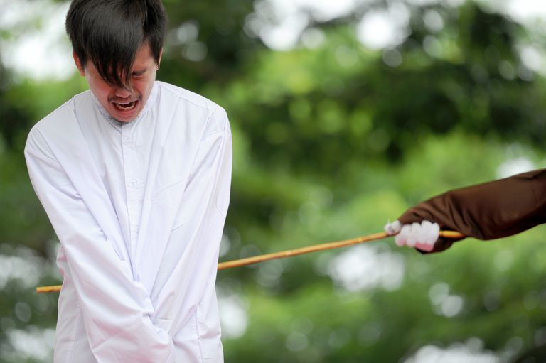 Corporal punishment in Indonesia