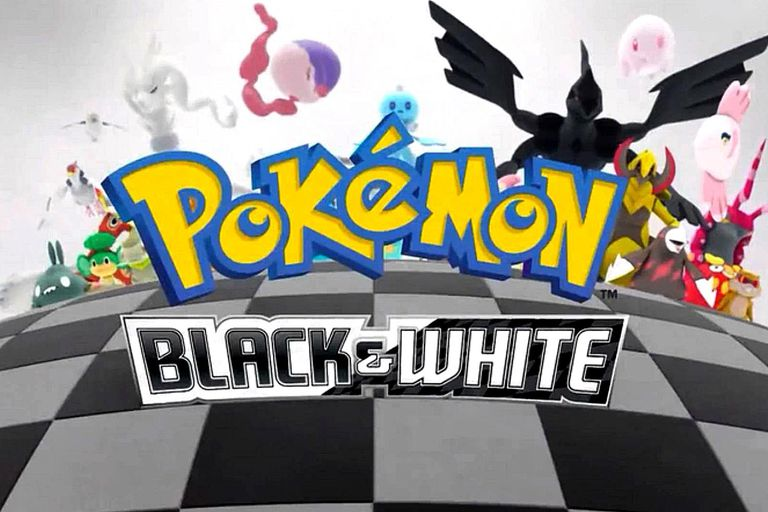 Pokemon Season 14 Black and White