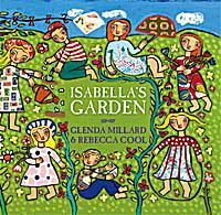 Cover art for Isabella's Garden, a children's picture book
