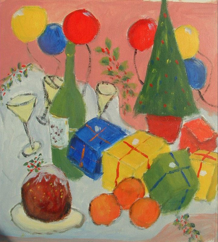 December Painting Project Make Your Own Christmas Cards