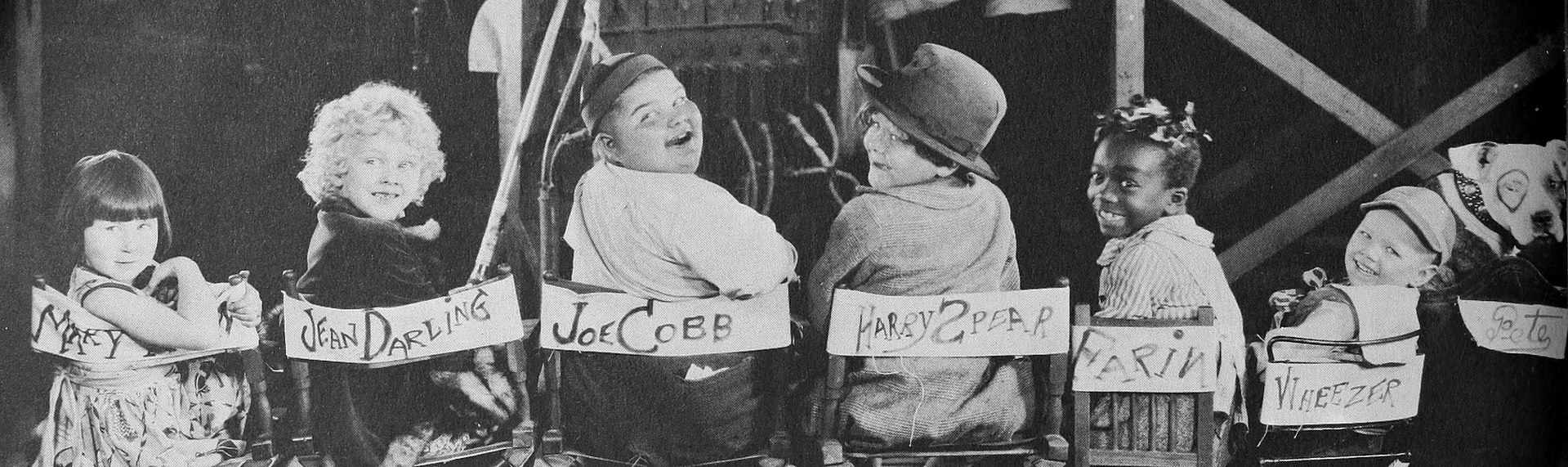 Our Gang - A Pictorial History of the Silent Screen