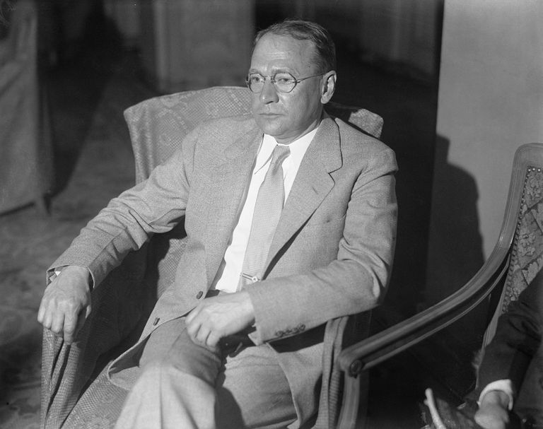 Vladimir K. Zworykin Posing