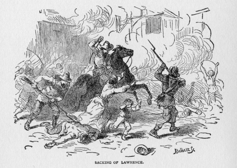 Quantrill's Raid Or The Lawrence Massacre