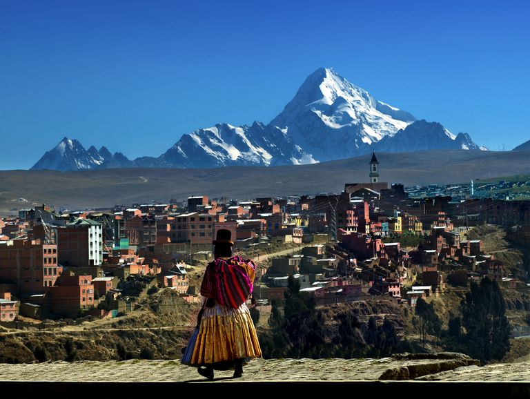 scene from Bolivia