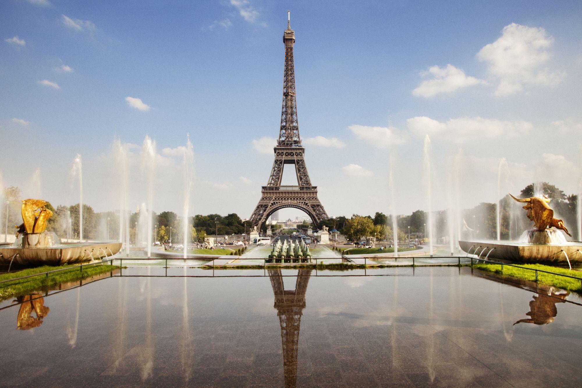Картинки париж и фонтан