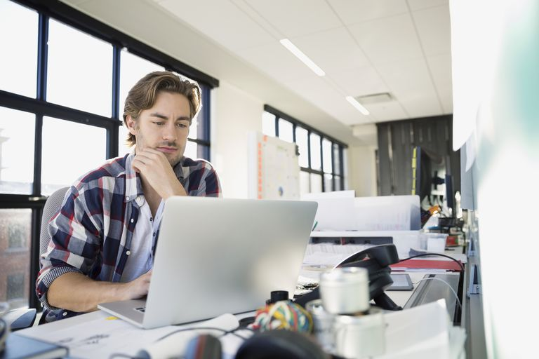 man at laptop
