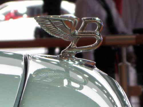 Bentley Flying B Emblem