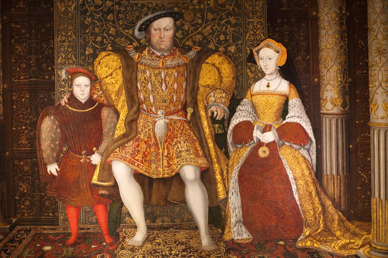 King Henry VIII, Jane Seymour and Prince Edward