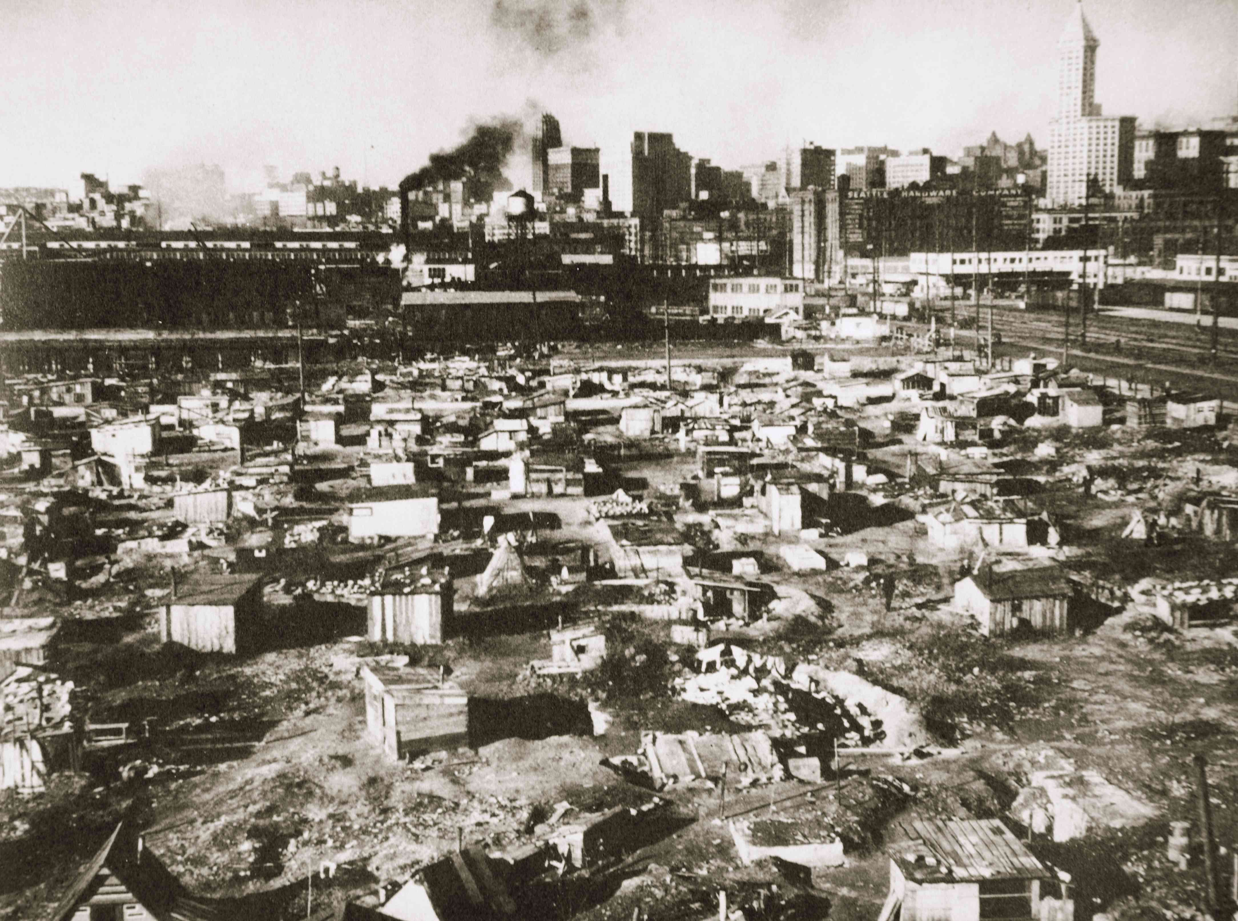 Hoovervilles Homeless Camps Of The Great Depression