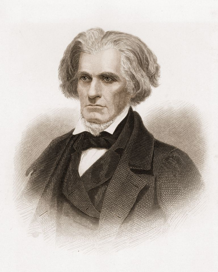 Portrait of John C. Calhoun