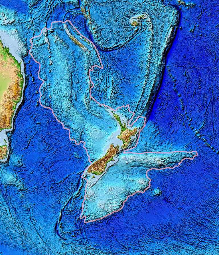 Zealandia: The Drowned Continent of the South