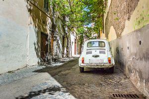 Old Car Italy