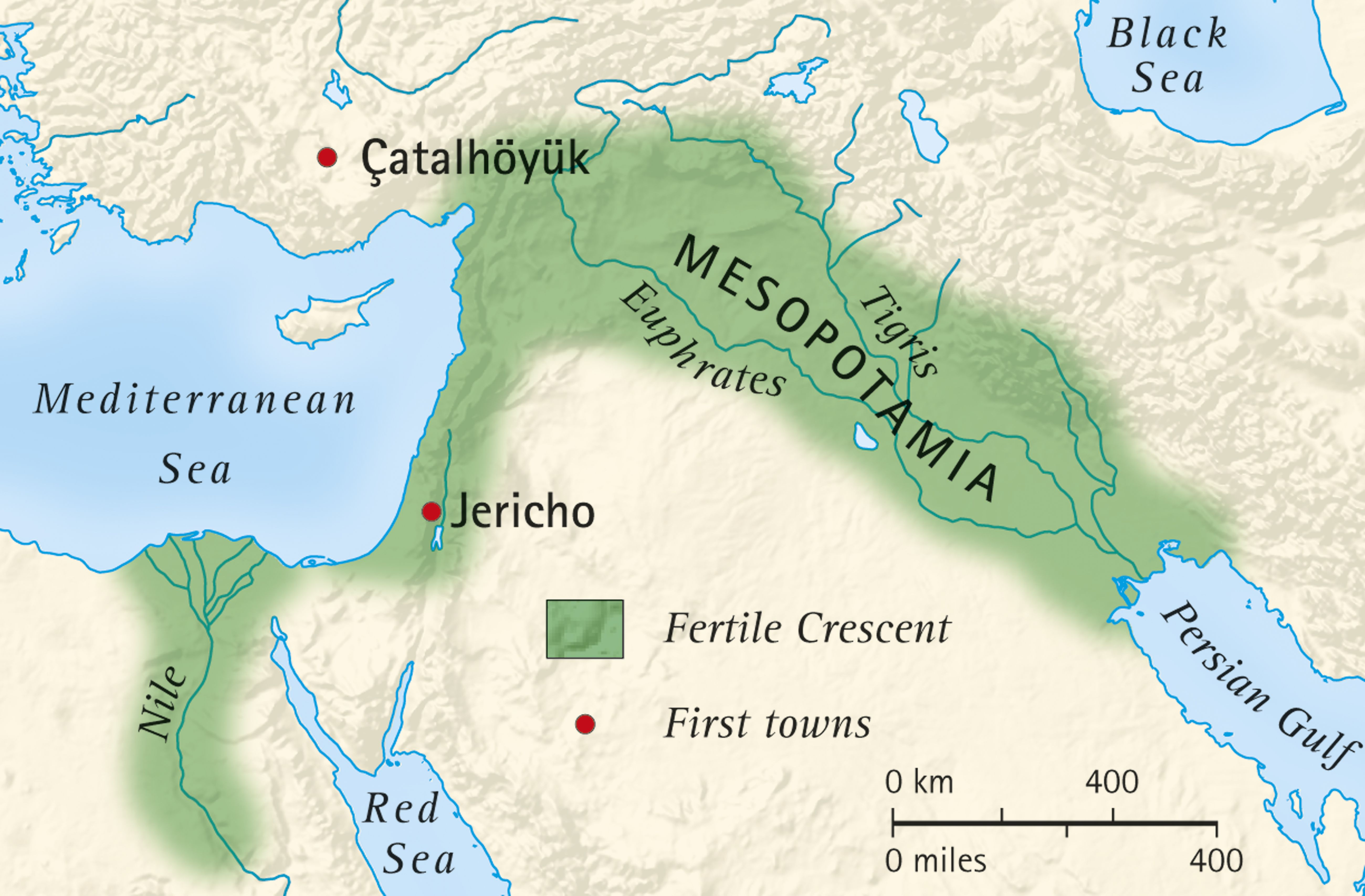 What Was the Fertile Crescent?