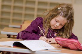 A 6th grade student