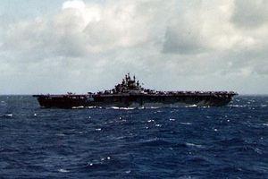 USS Lexington (CV-16) in the Pacific