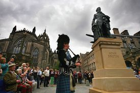 Adam Smith statue