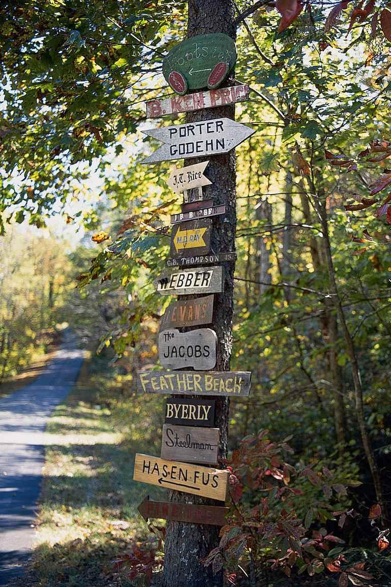 Street sign last names