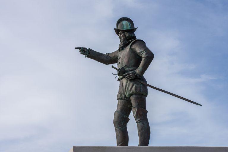 Ponce De Leon Statue