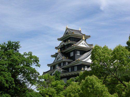 Like Matsumoto Castle, Okayama is called
