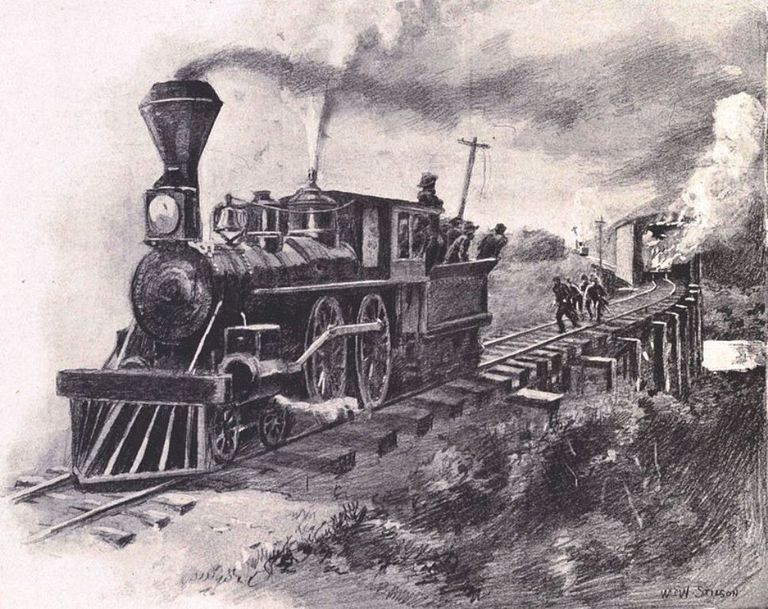 Great Locomotive Chase, 1862