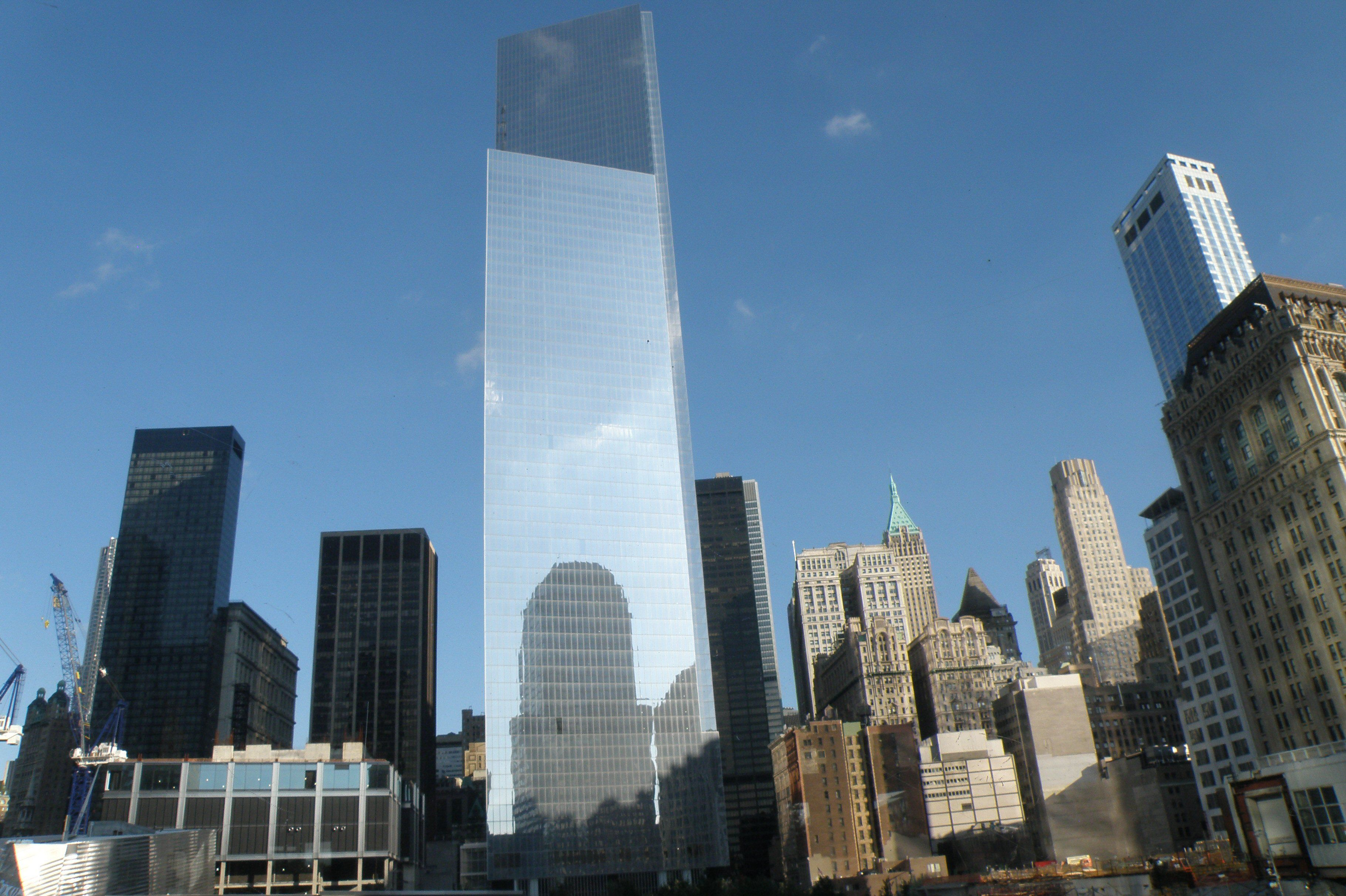 3 World Trade Center Designed By Richard Rogers Almost Completed Classy What They Are Building At Ground Zero NYC 9991 10