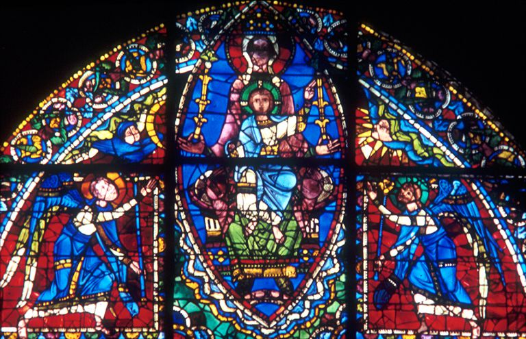 Stained Glass Windows Medieval Art And Religion