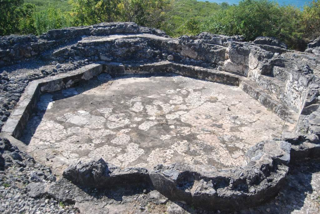 Bathing Pool at Husuni Kubwa, Kilwa Kisiwani