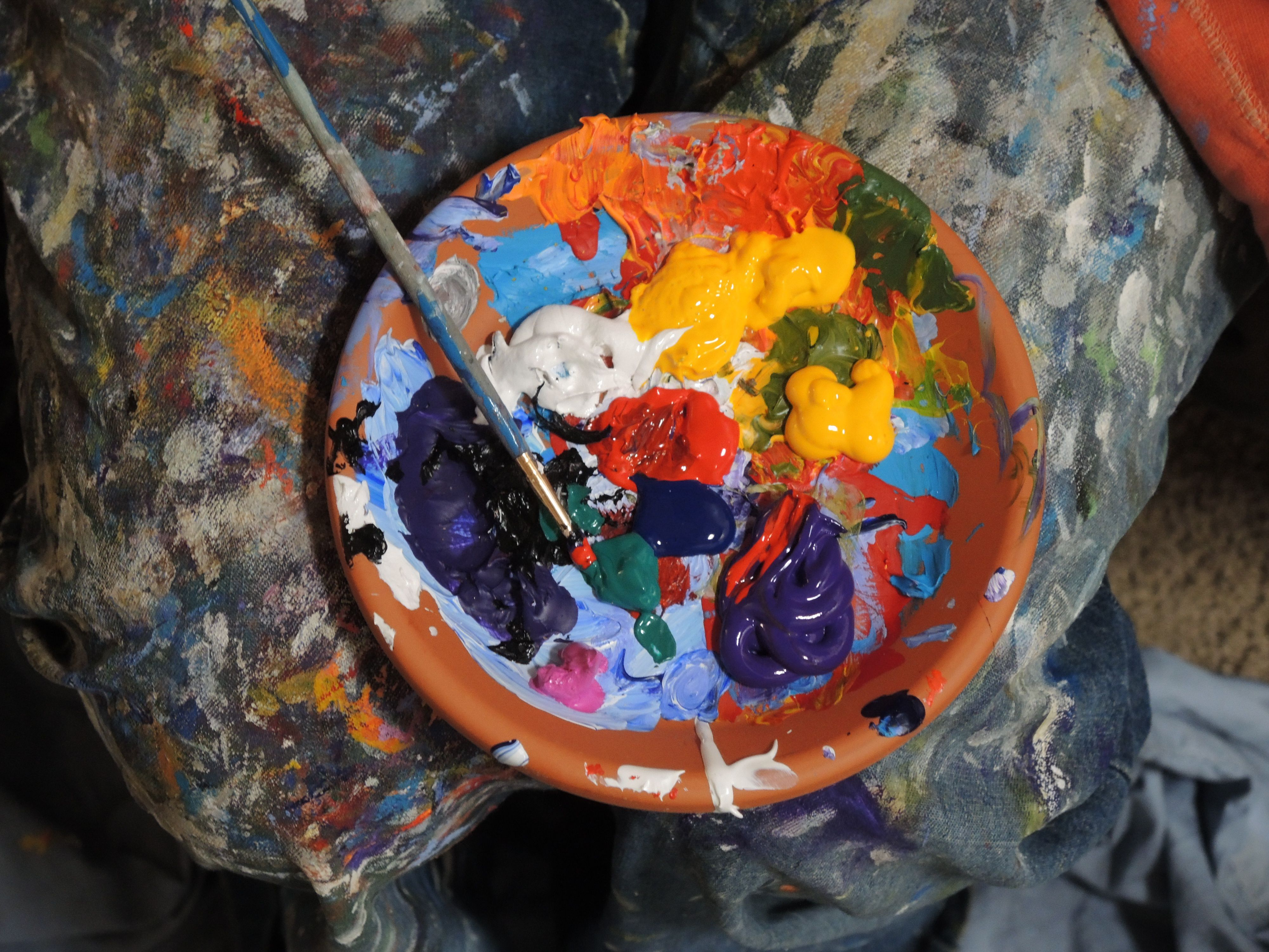 Glaze Art - Painting Glazes in Oils or Acrylics