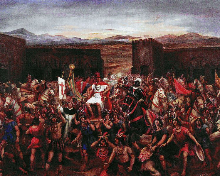 The Capture of of Atahualpa