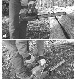 Working Safely with a Chainsaw