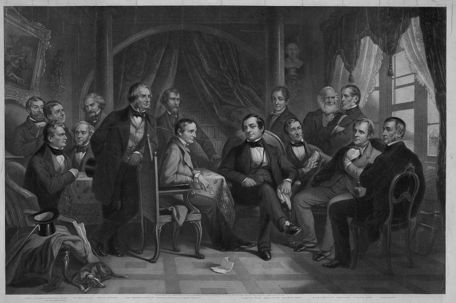 Washington Irving und seine literarischen Freunde in Sunnyside