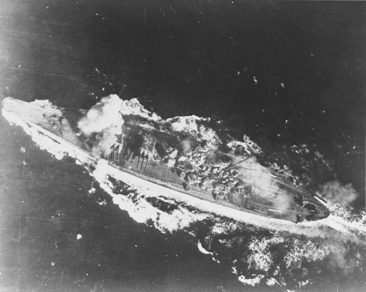 Yamato during the Battle of Sibuyan Sea