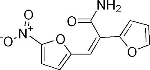 This is the chemical structure of furylfuramide.